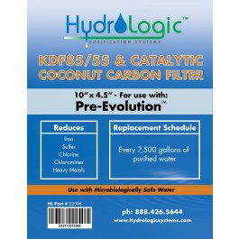 Hydro Logic PreEvolution Filter