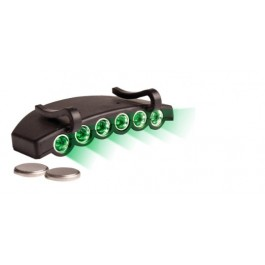 Green Eye LED Cap Light