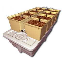 General Hydroponics EuroGrower 8 - Drip Complete System