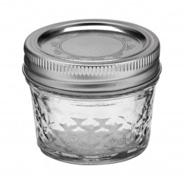Ball Jar 4 oz Quilted Crystal - Pack of 12