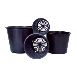 Round Plastic Mesh Bottom Pots