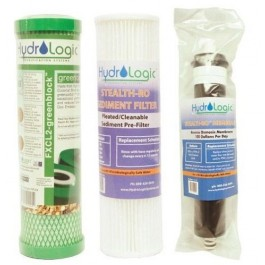 Hydro Logic Stealth RO 100 Replacement Filter Package