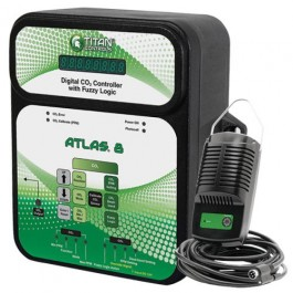 The Atlas® 8 is a digital CO2 monitor/controller. Once the CO2 level has reached your desired set point it will disable the CO2 device.