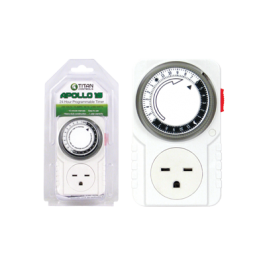 Titan Controls Apollo 10 - One Outlet 240 Volt Mechanical Timer