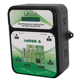 Titan Controls Hades 2 - Digital Recycle and Light Timer with High Temp. Shut-Off