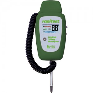 Luster Leaf Rapitest Digital 3 Way Analyzer