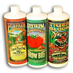 Fox Farm Soil Trio Pack