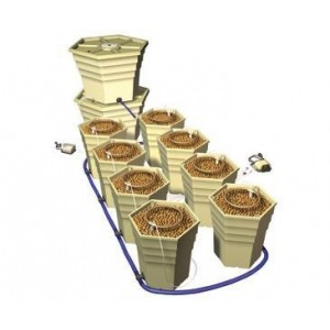 General Hydroponics Power Grower - 8 Pack Kit