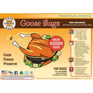 "True Liberty Goose Bags 18"" x 24"" - Pack of 100"