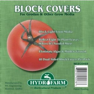 "Hydrofarm 6"" Rockwool Block Cover"