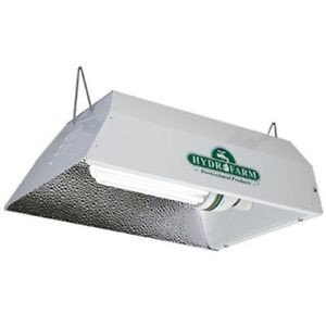 Compact Fluorescent Grow Light Fixture