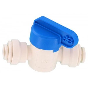 Hydro-logic QC Inline Shut Off Valve 1/4 in