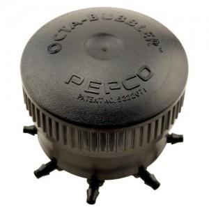 Pepco Octa Bubbler Black 6 GPH