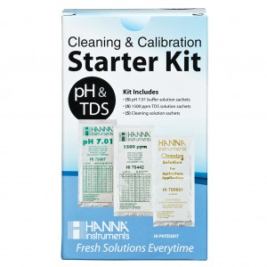 Hanna Solution Starter Kit - pH & TDS