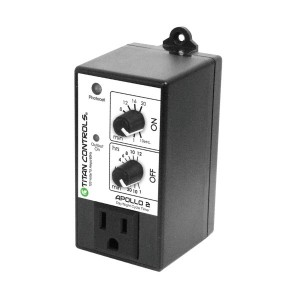 Titan Controls Apollo 2 Cycle Timer with Photocell