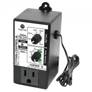Titan Controls Hades 3 - Lighting Timer & High Temp Shut-Off
