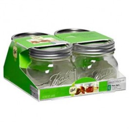 Ball Jar Collection Elite 16 oz - Pack of 4