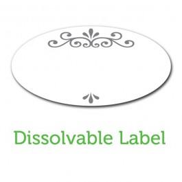 Ball Jar Dissolvable Labels - Pack of 60