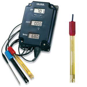 Hanna pH/TDS/Temp Monitor Hi 981504-7