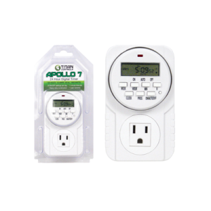 Titan Controls Apollo 7 - One Outlet Digital Timer