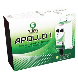 Titan Controls Apollo 1 Repeat Cycle Timer w/ Photocell