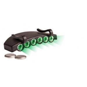 Green Eye LED Cap Light