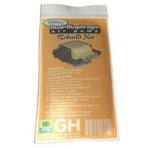 General Hydroponics Dual Diaphragm Air Pump Rebuild Kit