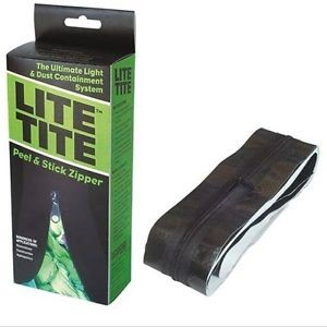 Lite Tite Heavy Duty Peel & Stick Zipper