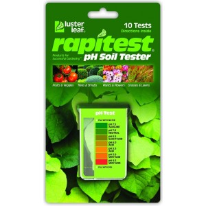 Luster Leaf Rapitest pH Soil Tester Capsule Kit Model 1612