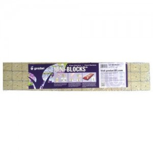 """Grodan 1.5"""" Starter Mini Blocks - 45 Pack"""