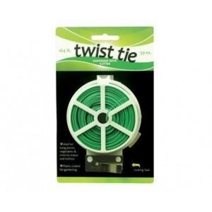 Twist Tie Dispenser w/ Cutter - 164 ft